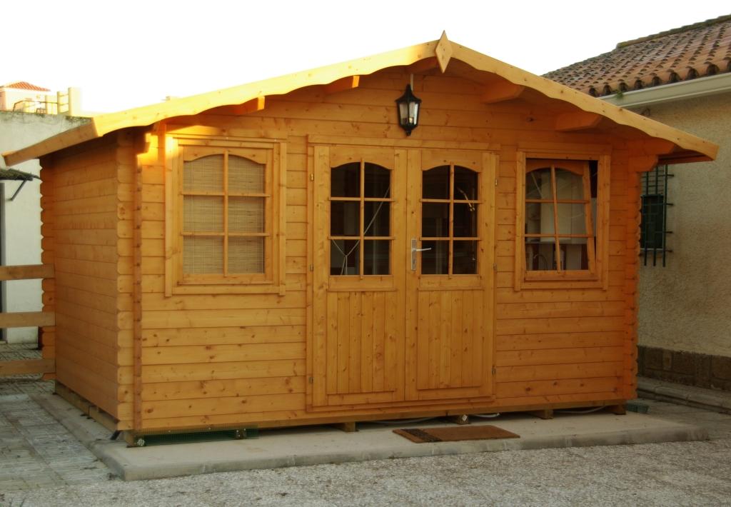Consejos para el tratamiento de la madera exterior casas - Casetas para el jardin ...