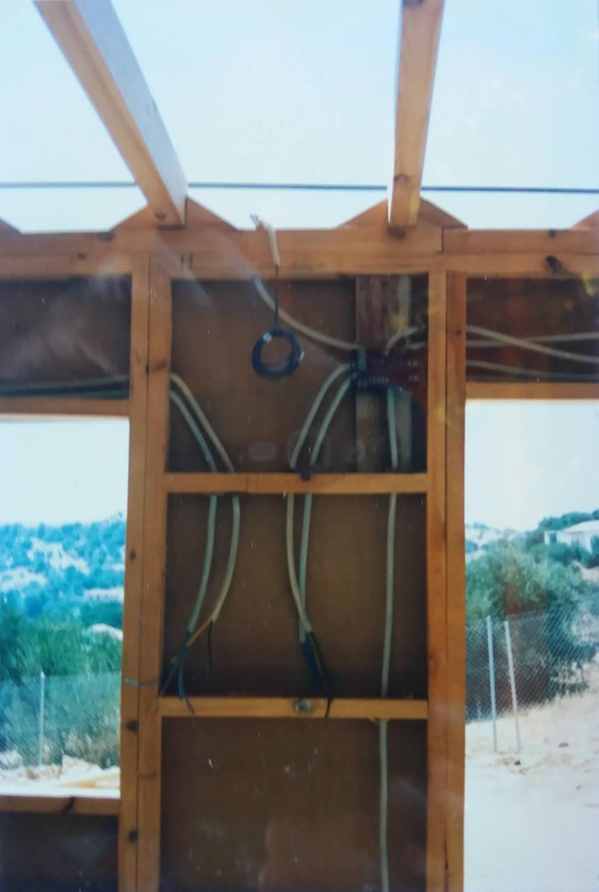 Casa de madera para vivienda unifamiliar en el campo casas de madera a medida for Casas de madera a medida