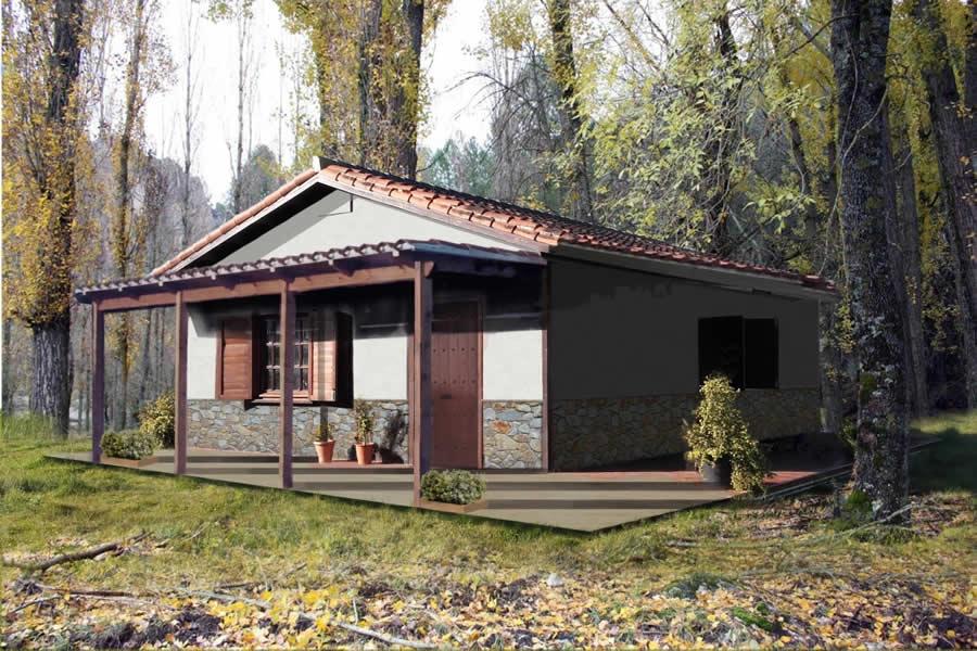 La casita casas de madera a medida for Casas de madera a medida