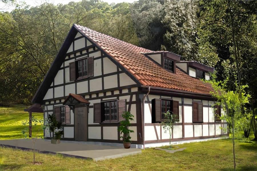 casa alemana casas de madera a medida